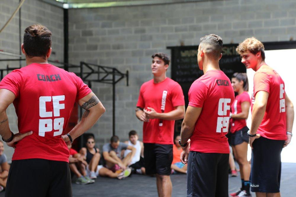Usando a mesma camiseta ou não: ser CFP9 é dizer algo além de exercícios...
