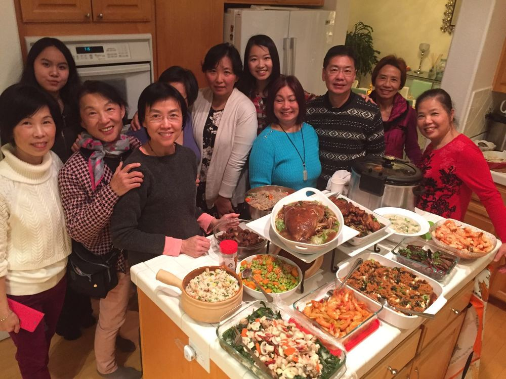 2016 Chinese New Year Potluck