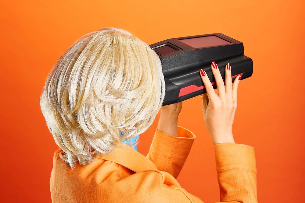 EYES SCANNER FOR QUARTZ MAGAZINE'S NEW BOOK 'The Objects that Power the Global Economy""