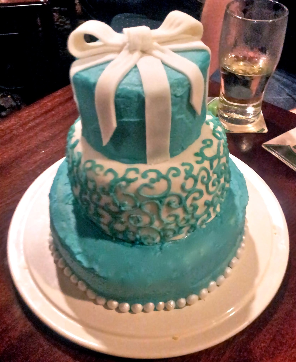 Tiffany's Birthday Cake