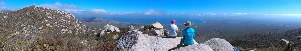 Vista panorámica desde el Sky Trail