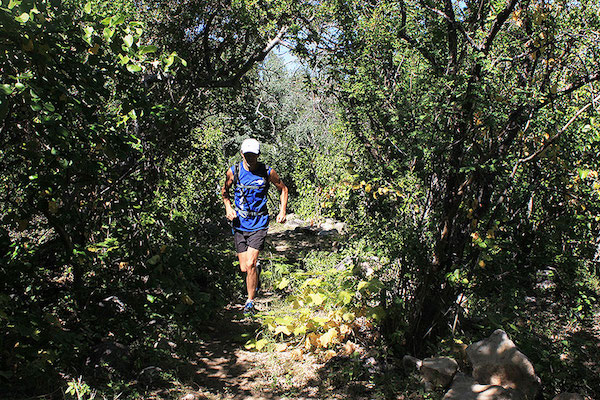 Trail Running — Single Track