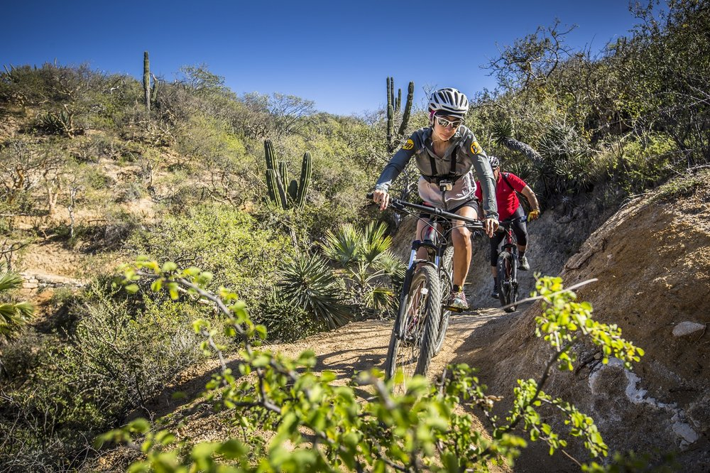 HIKING & MOUNTAIN BIKING - Explore and unwind on our private intermediate and advanced trails.