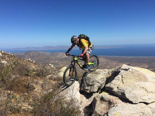 baja california sur mountain biking hiking trails near la paz