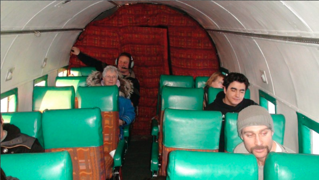 Aboard the DC-3