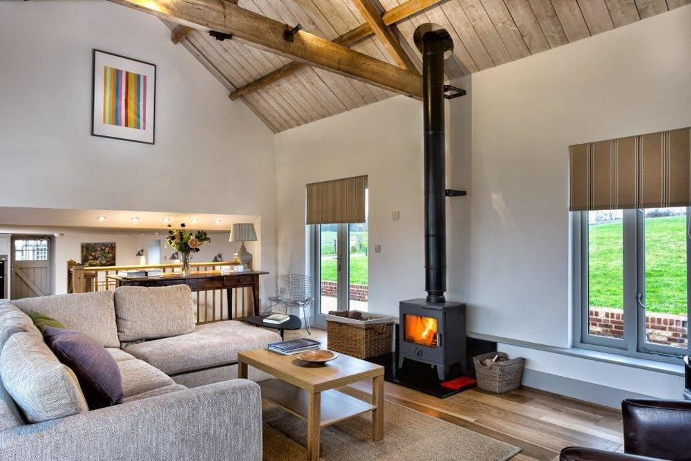 The Granary - Lordship's Barns - Living area
