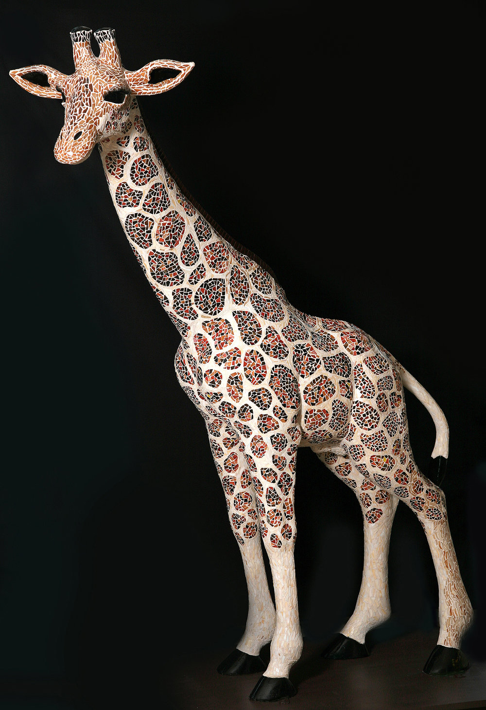 Long Tall Sally, mosaic sculpture