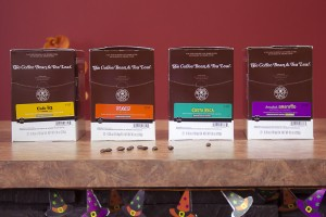 The Coffee Bean & Tea Leaf four pack