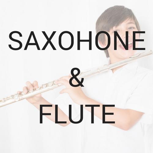 Saxophone & Flute Lessons