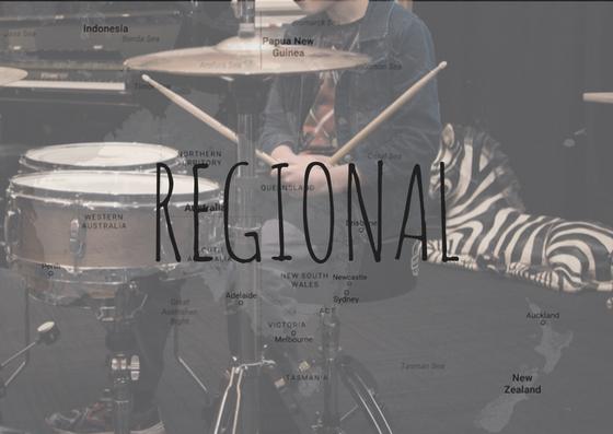 Regional Music Lessons