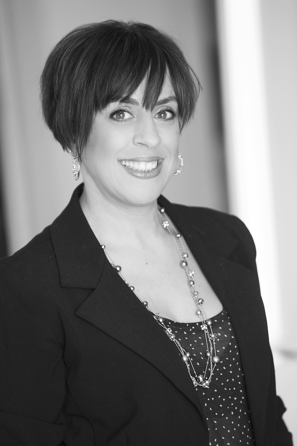 dina, stylist   Dina joined the Storm team in 1999. With a thirst for knowledge, Dina has attended some of the top education events in Canada and the United States. She takes pride in educating guests in how to achieve a salon look at home. Dina also shows a true affection for her guests with an enjoyable and memorable salon experience.
