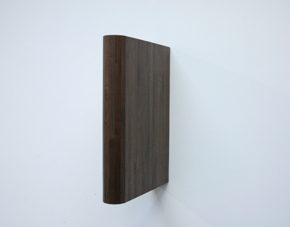 "Untitled ,  2013  Walnut   30"" x 24"" x 8"""