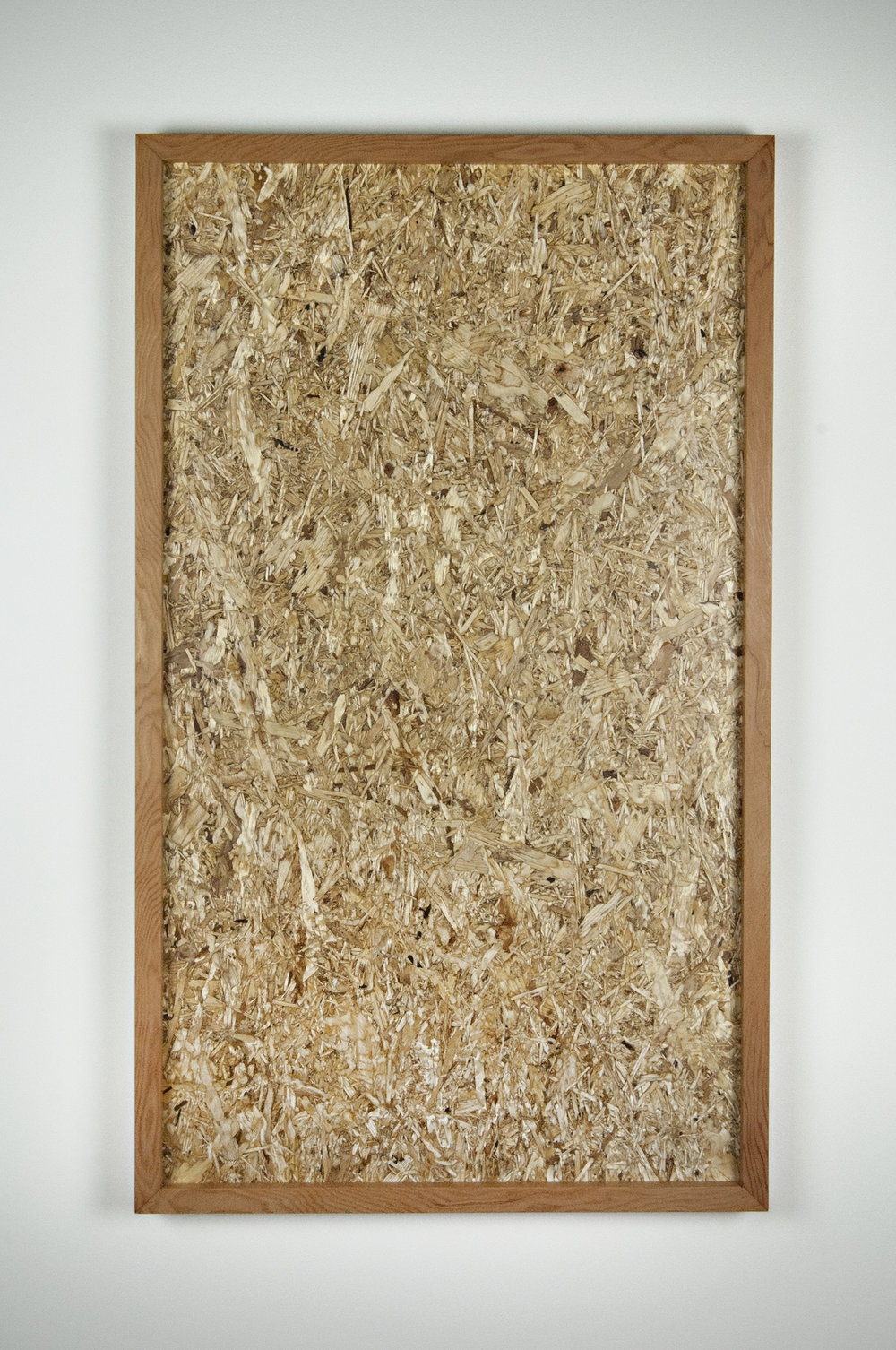 "THERE GOES THE NEIGHBORHOOD  2016,   OSB, Doug Fir,  21.5"" X 37.25"" X 1.75"""