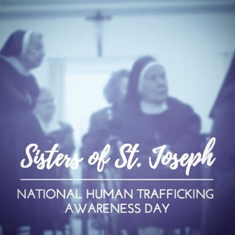 This past weekend we had the privilege of being invited to speak at the Sisters of St. Joseph's annual human trafficking awareness event.  This year the Sisters wanted to highlight a declaration made by Pope Francis that acknowledged the connection between Climate Change and Human Trafficking.  While this was a new context for us to discuss vulnerability, this connection is vital and a conversation we were excited to begin with the community.  We were completely blessed by how warmly the Sisters received us into their home, how present the Watertown community was for this event and to have the chance to reconnect with our colleagues from the task force. //. To read the declaration by Pope Francis or to read the press release in support of the work being done in the North Country, check our Facebook!! (Original photo credit to Stephan Swofford)