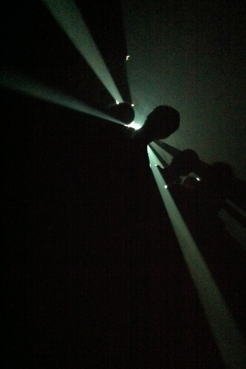Day out at the ACMI. Checking out   Screen Worlds.      The highlight of this exhibit was Anthony McCall's installation where light, a haze machine and a 16 mm projector challenge your sense of perception.