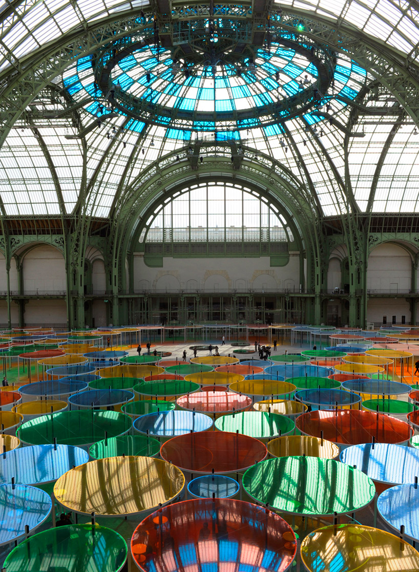 (via  daniel buren: monumenta 2012 - excentrique(s) )