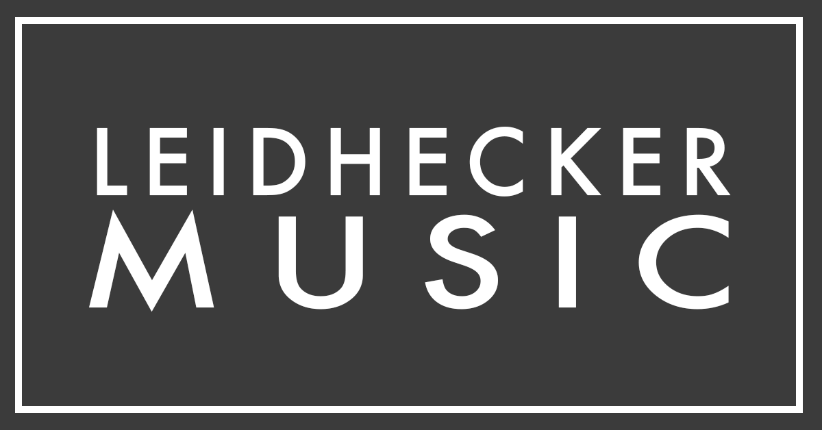 Leidhecker Music | Official Site