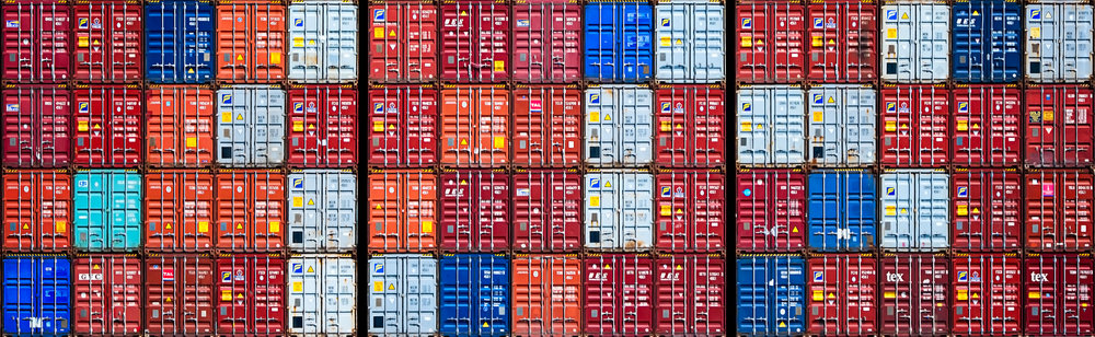 oakland port shipping containers
