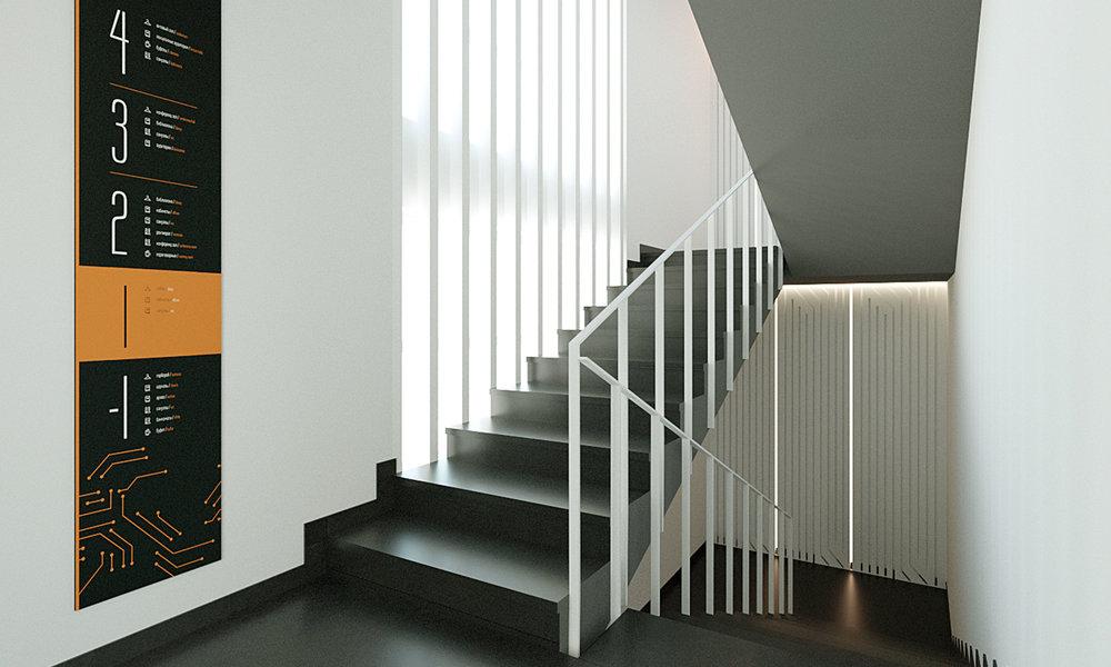 Типовая эвакуационная лестница