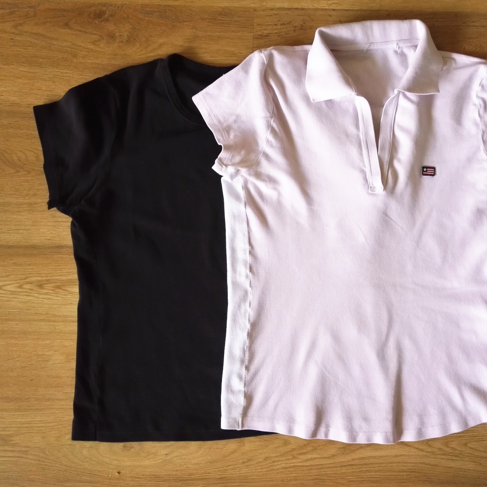 Sivukaitaleet antavat mukavasti väljyyttä pieneksi jääneeseen paitaan