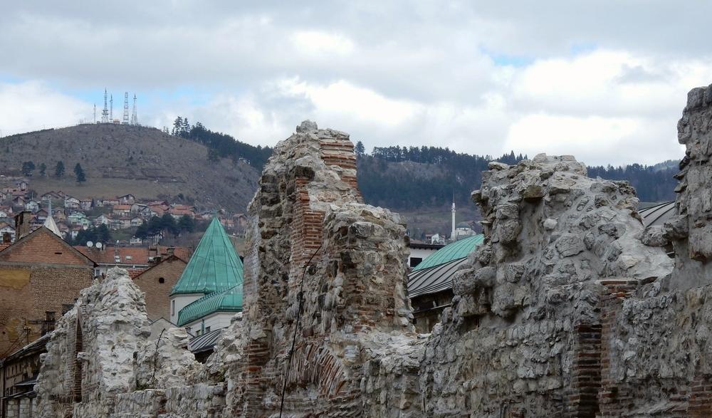 Ottoman ruins.