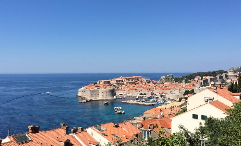 The old town of Dubrovnik.