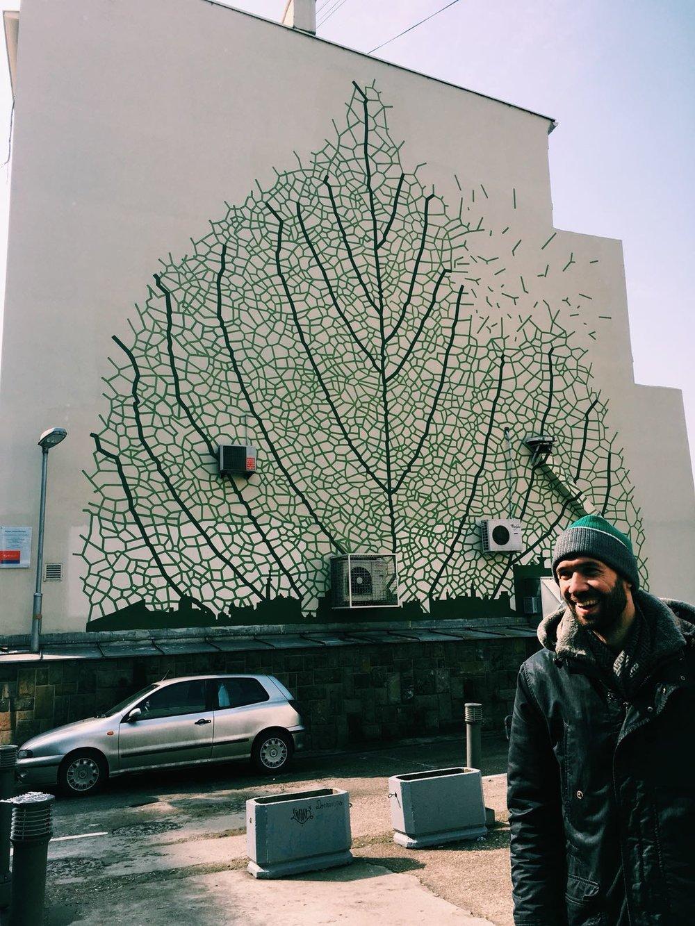Street art continues to amaze in Belgrade