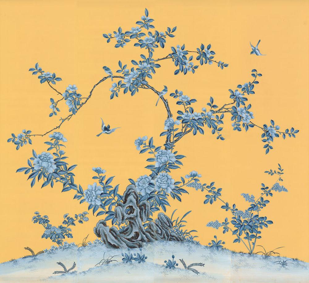 The Chinese Tree. Chinoiserie Panels — Allyson McDermott