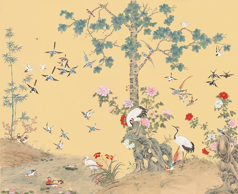 Ginkgo Garden Chinoiserie — Allyson McDermott