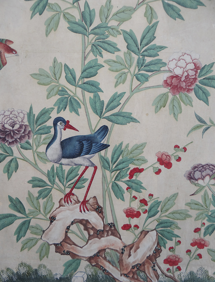 Royal Pavilion Chinese paper. Detail..jpg