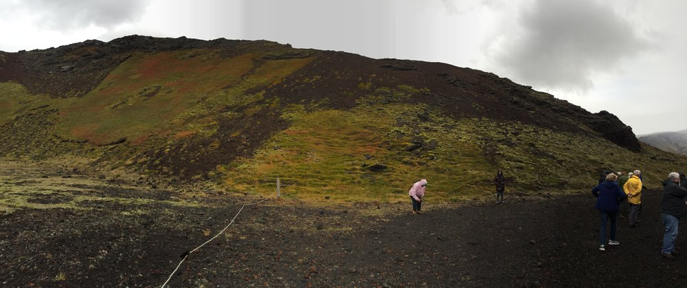 This was an extinct volcano caldera that we were able to drive right into with the tour bus.