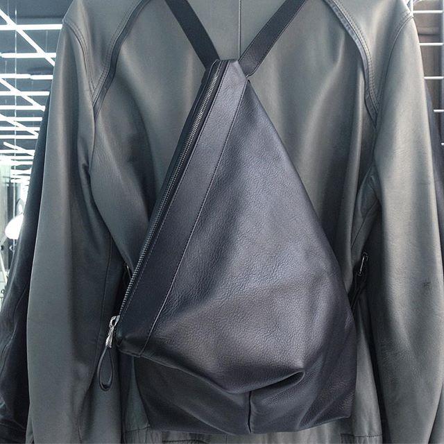 C A N D Y #marchal #ateliermarchal #amenstores #paris #palma #brussels #blackleather #black #hypebeast #backpack #love
