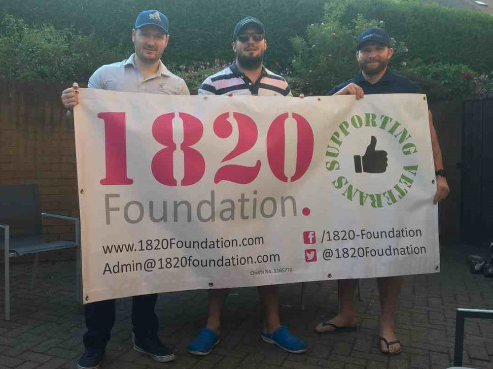 We raised an amazing £3500 for 1820 Foundation and dementia charities