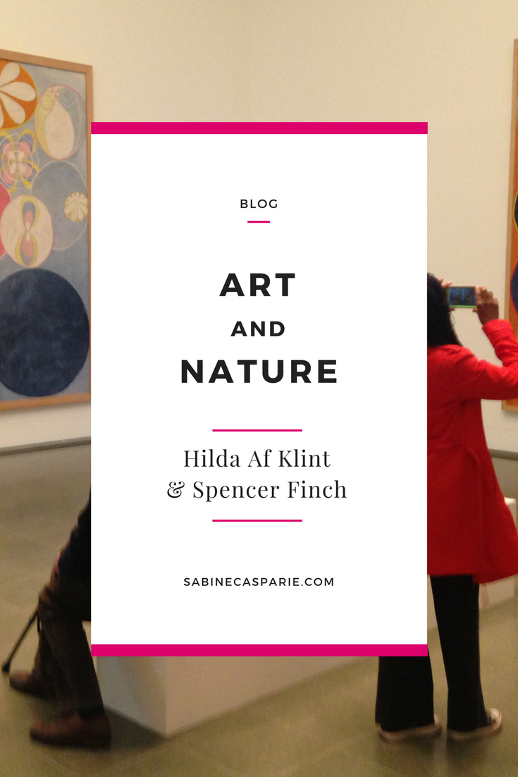 Art and Nature: Hilda Af Klint and Spencer Finch