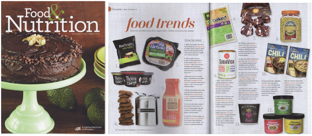 Food & Nutrition Magazine Nov/Dec 2014