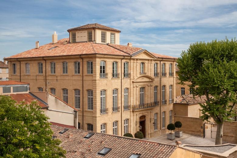 L'Hôtel de Caumont à Aix-en-Provence  © Culturespaces / S. Lloyd