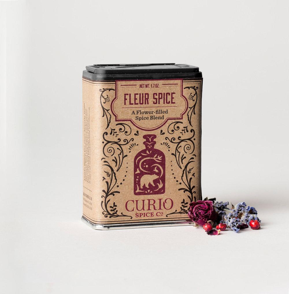 Fleur Spice - a fresh blend of pink pepper, hibiscus & rose.