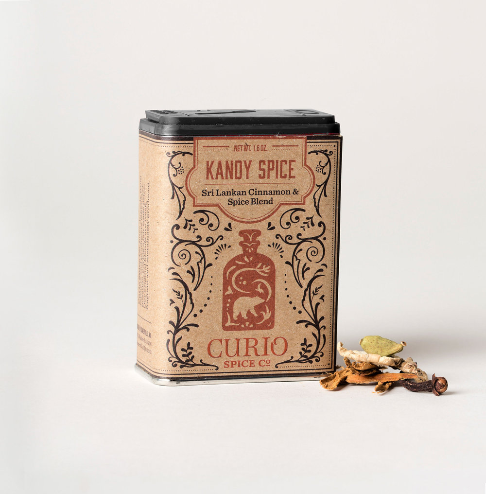 Kandy Spice - a cozy Sri Lankan cinnamon blend