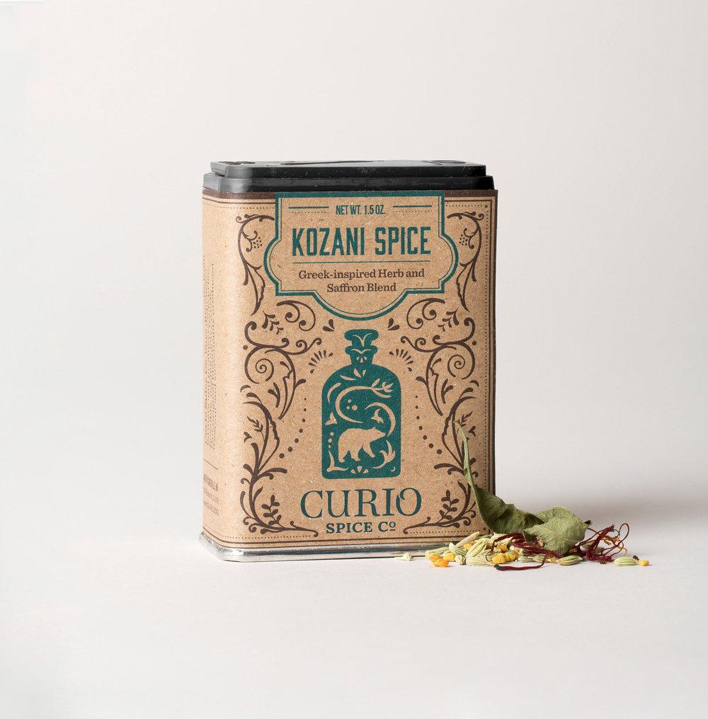 Kozani Spice - Greek Saffron & Herb Blend