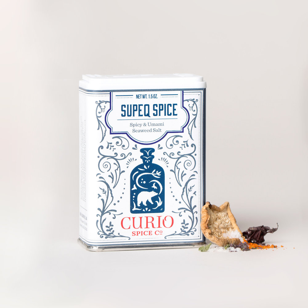 Supeq Spice - Spicy & Umami Seaweed Salt
