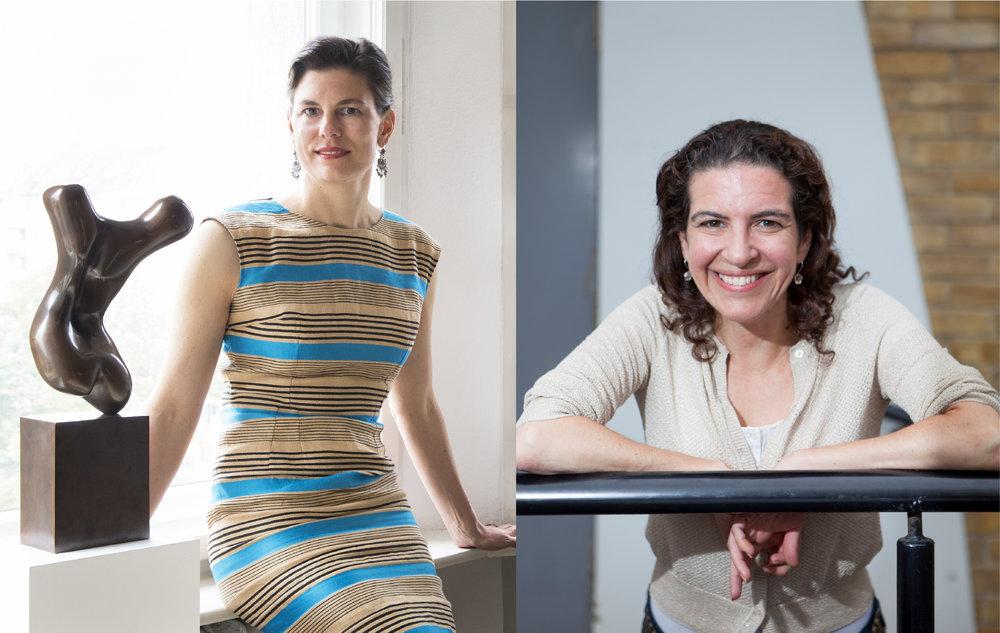 Image: Speakers Dr Loretta Würtenberger and Melanie Gerlis