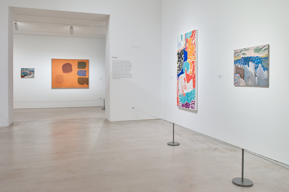 Installation photography, Patrick Heron at Turner Contemporary, Stephen White