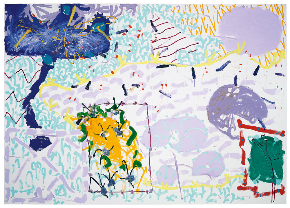 Patrick Heron, Sydney Garden Painting : December : 1989 : II, 1989 © estate of Patrick Heron. All rights reserved, DACS 2018