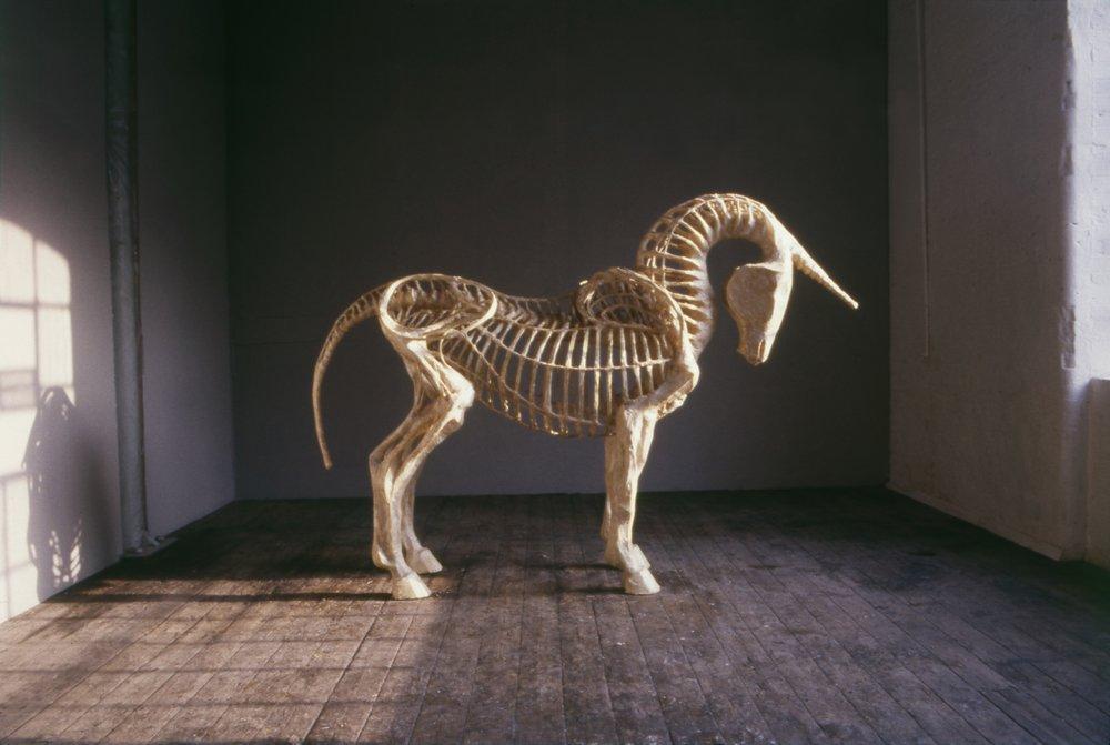 Unicorn , Cathy de Monchaux, 1985 © Cathy de Monchaux, All Rights Reserved.