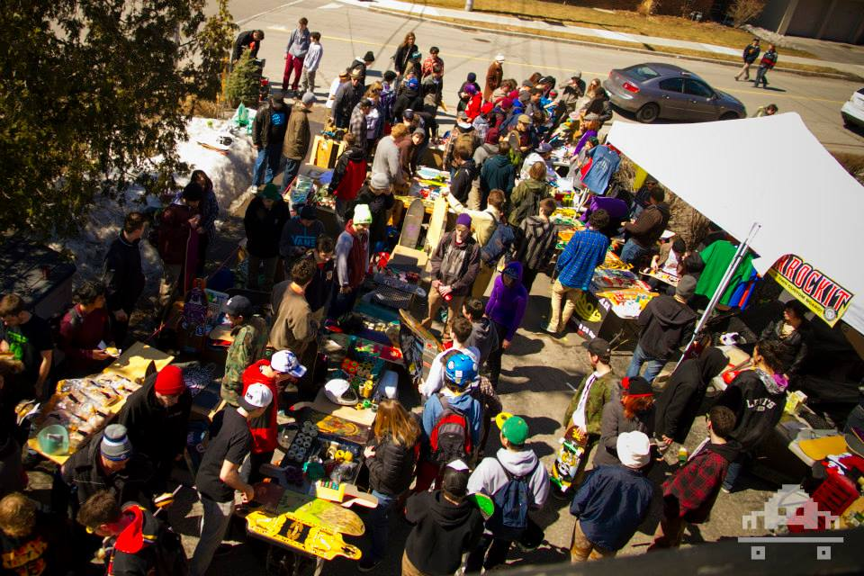 NOW - SWAP MEET 2014. Photo - Jon Nuss