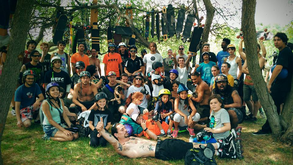 We cant believe how many young kids showed up! Its was amazing that they were all shredding.   Photo - Meghan Guevarra
