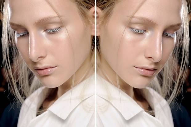 Great example of gentle highlighting by Alex Box for Issey Miyake