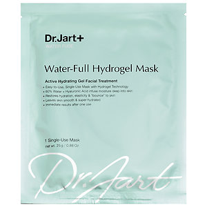 Dr. Jart Water-Full Hydrogel Mask: My go-to mask out of every single one I've tried. Any hydrogel sheet masks are great, but this one is my favorite for dehydrated, dull skin. It doesn't slip around either!