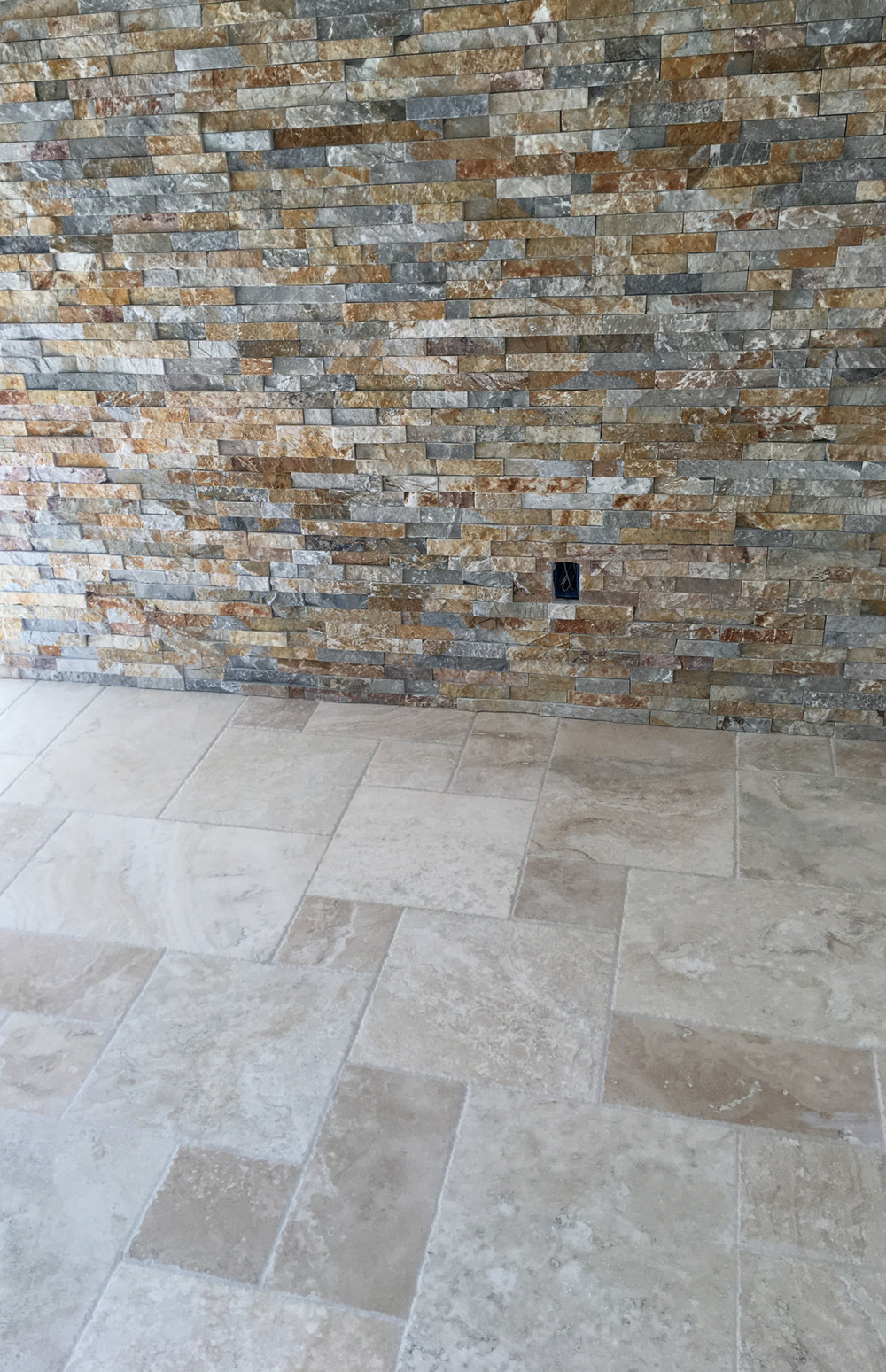 Ledgerstone and floor tile
