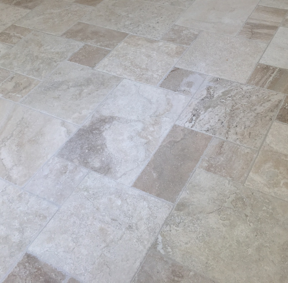 Versailles pattern, Turkish travertine